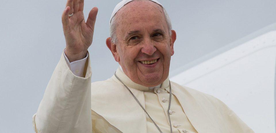 Papa Francesco in partenza dall'Aeroporto FVG - Ronchi dei Legionari 13/09/2014